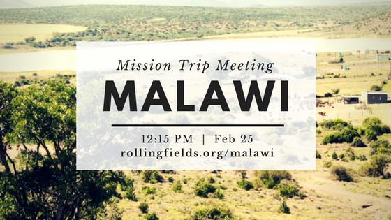 Mission Trip Meeting Website